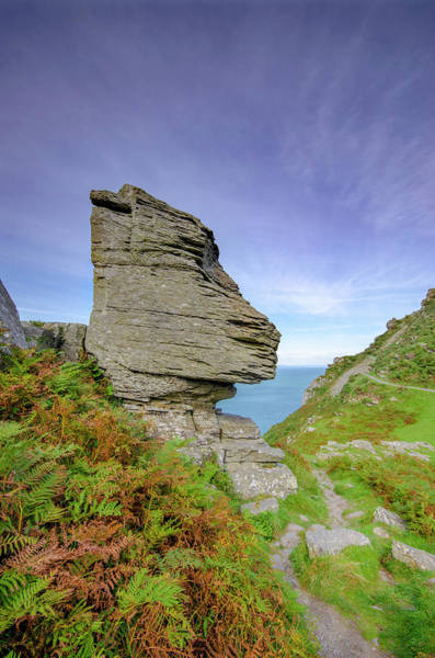 Wall Art - Mixed Media - Valley Of The Rocks by Smart Aviation