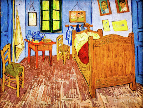 Painting - Van Gogh's Bedroom by Vincent Van Gogh