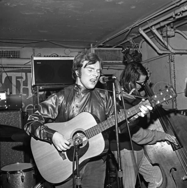 Topix Photograph - Van Morrison Performing In Ny by Donaldson Collection