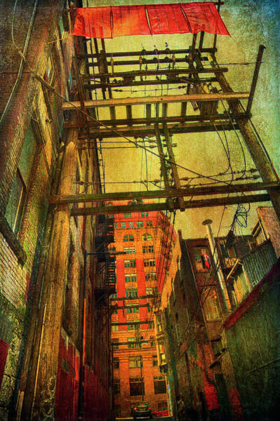 Photograph - Vancouver Alley by Theresa Tahara