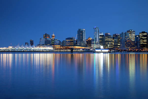 Vancouver City Photograph - Vancouver Waterfront Skyline by Dan prat