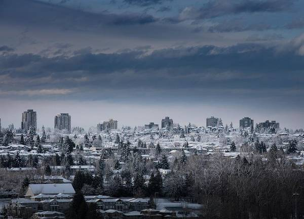 Photograph - Vancouver Winter No. 4 by Juan Contreras