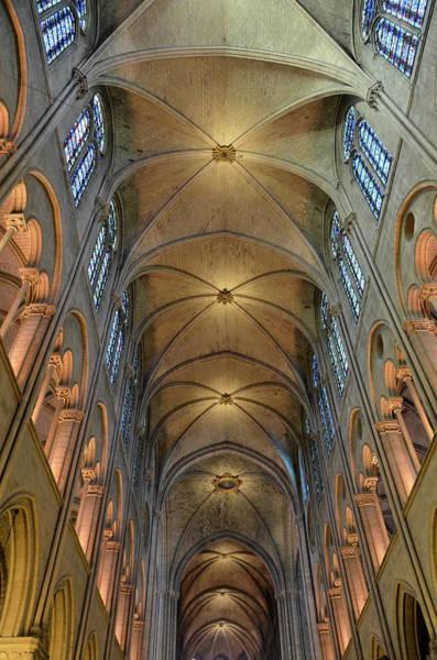 Photograph - Vaults Of Notre Dame De Paris Before The Fire Of 2019 by RicardMN Photography