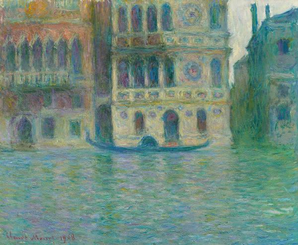 Wall Art - Painting - Venice, Palazzo Dario by Claude Monet