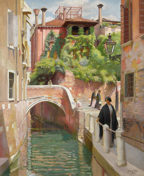 Wall Art - Painting - Venice by William McGregor Paxton