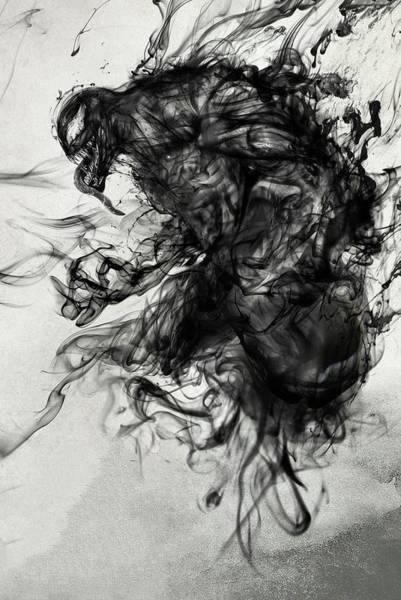 Spider Digital Art - Venom by Geek N Rock