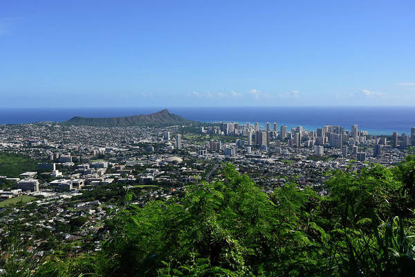 Photograph - View From Tantalus Lookout Overlooking by Ryan Rossotto