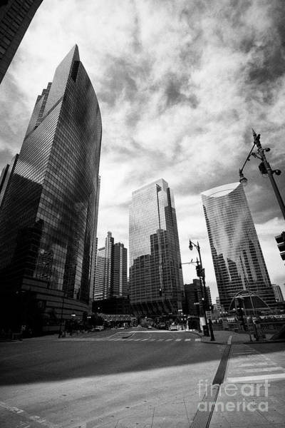 Wall Art - Photograph - View Of 333 Wacker Drive,the Boeing Building,150 North Riverside,  River Point And Riverbend Left Ba by Joe Fox