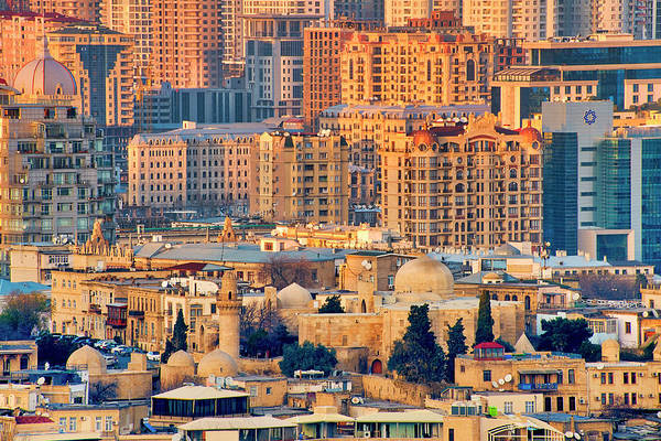 Photograph - View Of Baku by Fabrizio Troiani