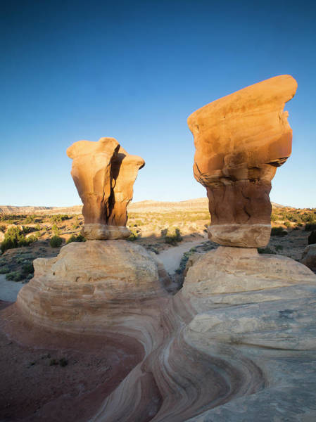 Wall Art - Photograph - View Of Rock Formations, Devils Garden by Panoramic Images