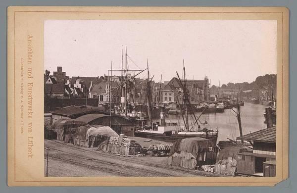 Wall Art - Painting - View Of The Amstel Hotel, Johan Conrad Greive, 1847 - 1891 by Johan Conrad Greive