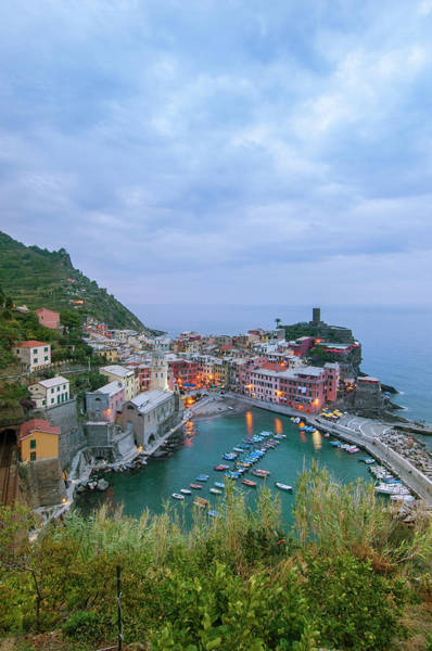 Vernazza Photograph - View Of The Town by Maremagnum