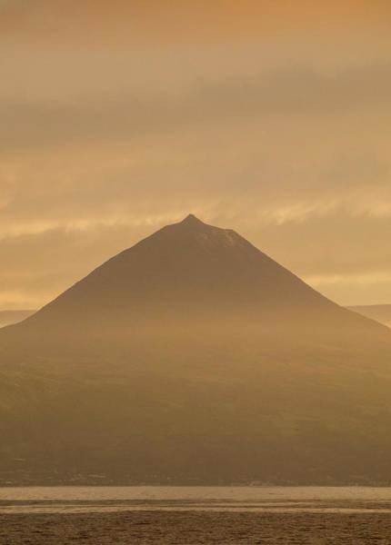 Wall Art - Photograph - View Towards The Pico Island Sao Jorge Island Azores Portugal by imageBROKER - Karol Kozlowski