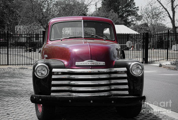 Photograph - Vintage Chevrolet - Pickup Truck by Dale Powell