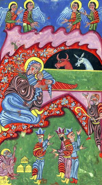 Wall Art - Photograph - Vintage Nativity Scene by Munir Alawi