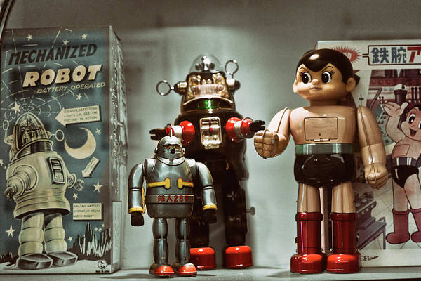 Made In Japan Wall Art - Photograph - Vintage Robot by Benjamin Dupont