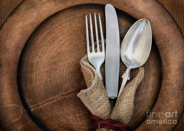 Wall Art - Photograph - Vintage Silverware by Jelena Jovanovic
