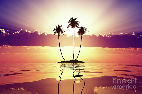 Wall Art - Photograph - Violet Sunset by Aleksey Tugolukov