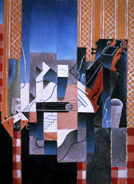 Wall Art - Painting - Violin And Guitar, 1913 by Juan Gris
