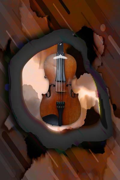 Mixed Media - Violin Dream by Marvin Blaine
