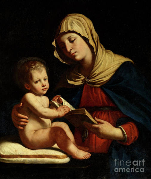 Wall Art - Painting - Virgin And Child by Benedetto the Younger Gennari