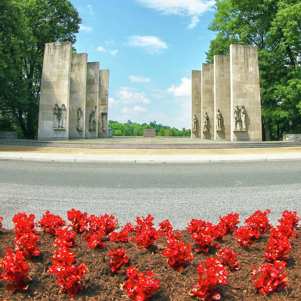 Wall Art - Photograph - Virginia Tech War Memorial by Mitch Cat