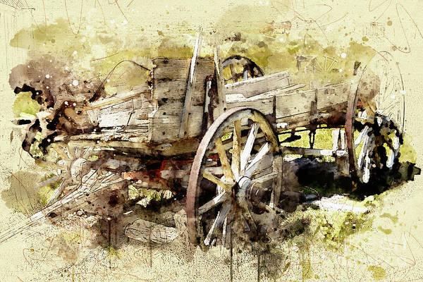 Digital Art - Wagon by Mark Jackson