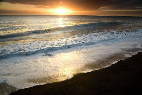 Big Island Photograph - Waimea Sunset, Islands Of Hawaii by Jimkruger