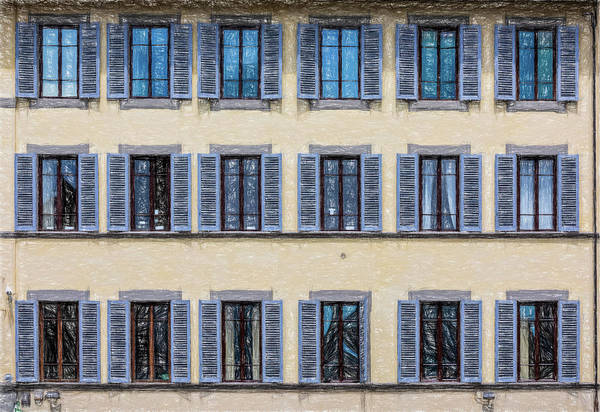Photograph - Wall Of Windows II by David Letts