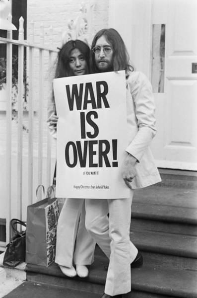 Photograph - War Is Over by Frank Barratt