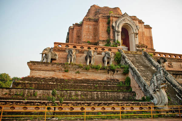 Chiang Mai Province Photograph - Wat Phra Singh Is Located In The Old by Rowan Gillson / Design Pics