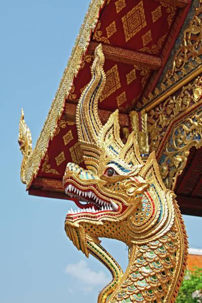 Chiang Mai Province Photograph - Wat Phra Singh Temple, Chiang Mai by John W Banagan