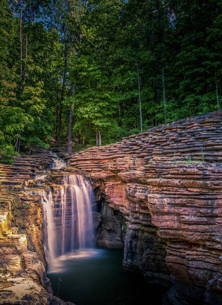 Photograph - Waterfall At Top Of The Rock by Allin Sorenson