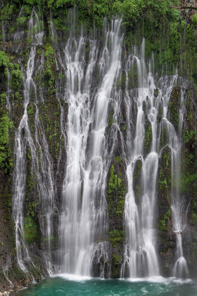 Photograph - Waterfall, Mcarthur-burney Falls by