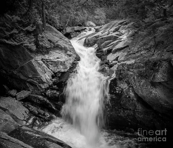 Photograph - Waterfall Rangeley by Alana Ranney