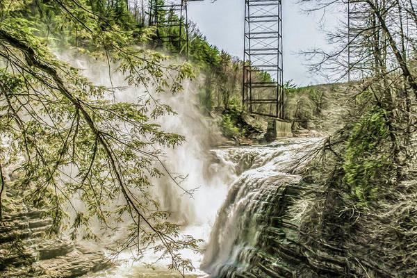 Aira Wall Art - Photograph - Waterfalls by Chic Gallery Prints From Karen Szatkowski