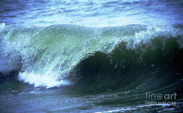 Wall Art - Photograph - Wave Curling Over by Jeff Swan