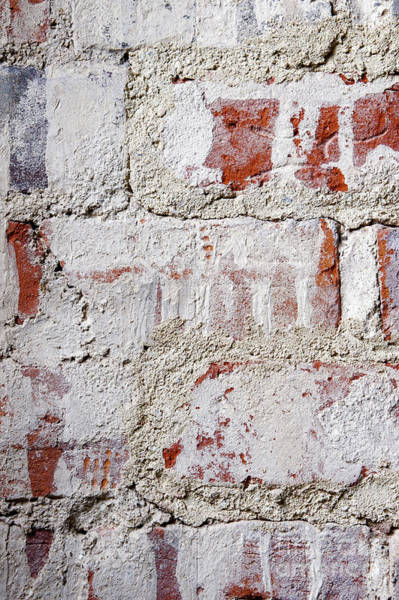 Wall Art - Photograph - Weathered Stone Wall by Tom Gowanlock