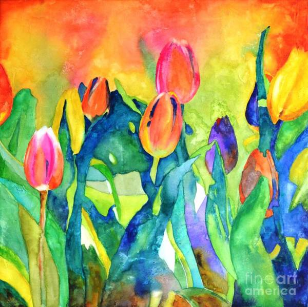 Painting - Welcome Spring #1 by Betty M M Wong