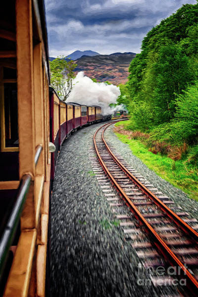 Wall Art - Photograph - Welsh Highland Railway by Adrian Evans