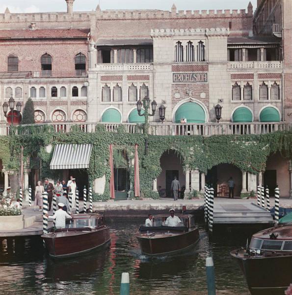 Venezia Photograph - Westin Excelsior by Slim Aarons