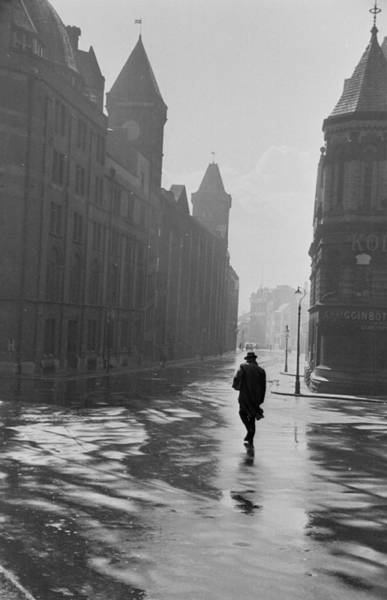 Newcastle Upon Tyne Photograph - Wet Newcastle by Maurice Ambler