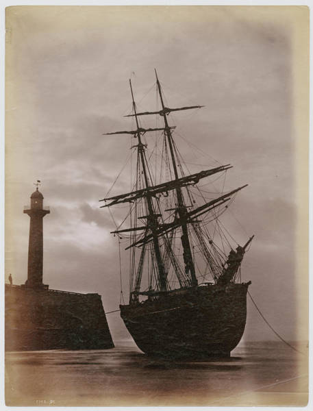 Moor Photograph - Whitby Harbour by Frank Meadow Sutcliffe