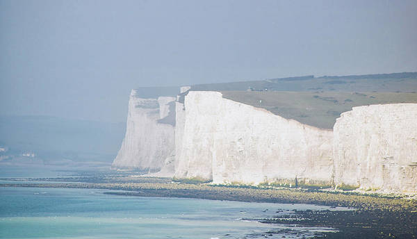Wall Art - Photograph - White Cliffs  by Martin Newman