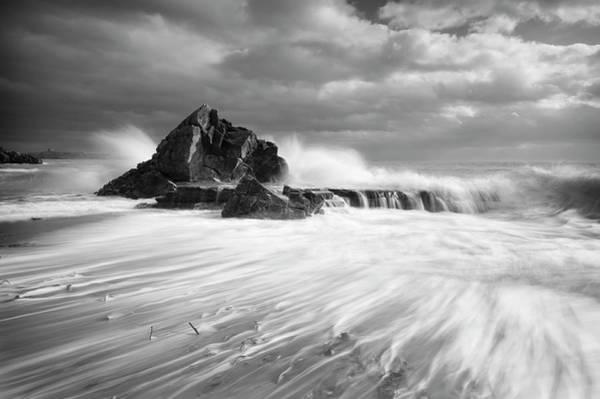 2014 Photograph - White Rock by Niall Whelan