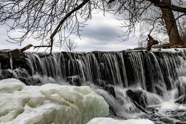 Photograph - Whitnall Waterfall by Randy Scherkenbach