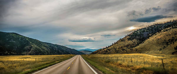 Photograph - Wide Open Vast Montana Landscape In Summer by Alex Grichenko