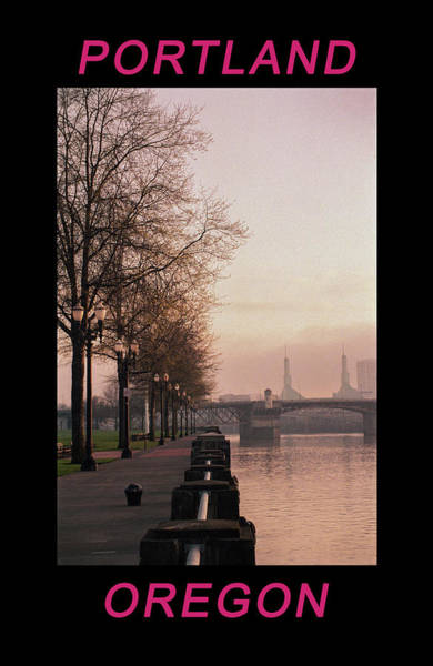 Photograph - Willamette Riverfront Portland Oregon by Frank DiMarco