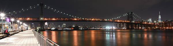 Photograph - Williamsburg Bridge by Theodore Jones