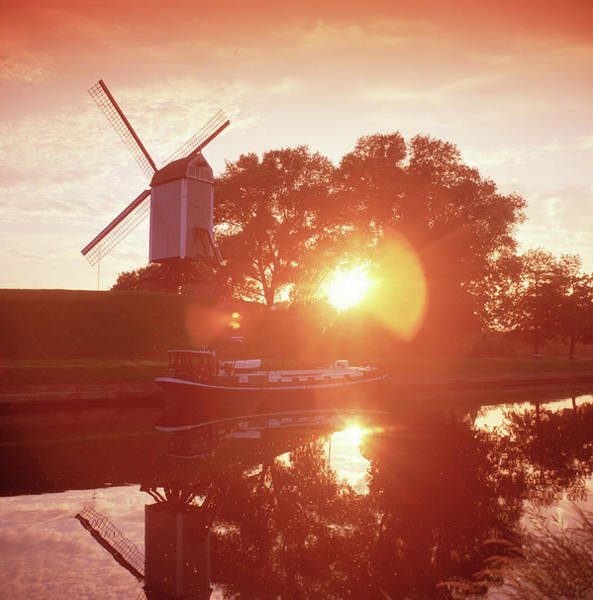 Photograph - Windmill by Images Etc Ltd